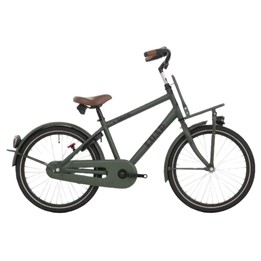 Bike Fun - Barncykel - Load 24 Tum 3 Växlar Mörk Grön
