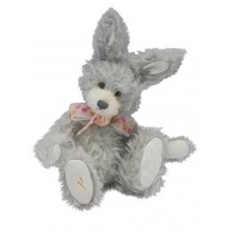 Clemens - Mjukisdjur Kanin Rabbit Roberta 32 Cm Grå