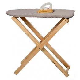 Mamamemo - Ironing Set Junior 52.5 Cm Wood/Textile 2-Piece