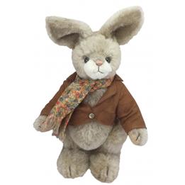 Clemens - Mjukisdjur Kanin Albert 28 Cm Grå