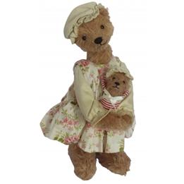 Clemens - Teddybjörn - Teddy Grandma 25 Cm Brun