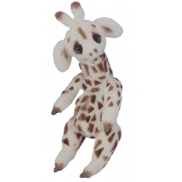 Clemens - Mjukisdjur Giraffe Akiko 25 Cm Vit/Brun