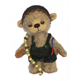 Clemens - Teddybjörn - Teddy Michel 13 Cm Ljusbrun