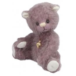 Clemens - Teddybjörn - Teddy Violett 15 Cm Lila
