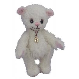 Clemens - Teddybjörn - Teddy Vit 15 Cm Vit