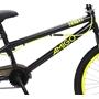 Amigo - BMX Cykel - Danger 20 Tum Svart/Gul