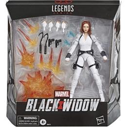 Marvel - Set Svart Widow 15 Cm Vit