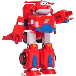 Super Wings - Transformer 34 Cm Röd