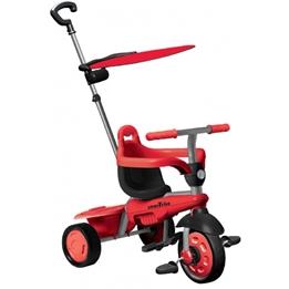 Smartrike - Trehjuling - 3-In-1-Trehjuling Carnival Junior Svart/Grå