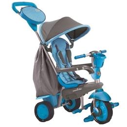 Smartrike - Barnvagn - 4-In-1-Trehjuling Swing Dlx Junior Grå/Blå