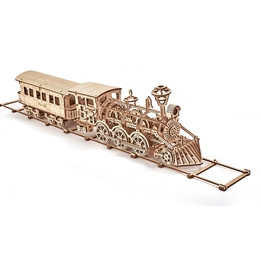 Wood Trick - Modelleksak 3D Lokomotiv R17 405 Delar