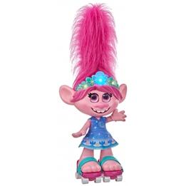 Dreamworks - Poppy With Dancing Hair Trolls 38 X 30,5 Cm Lila/Rosa