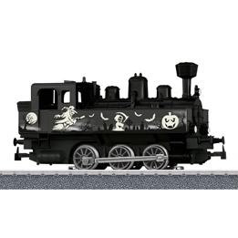 Marklin - Tåg Miniatyrmodel Ånglok Halloween Svart