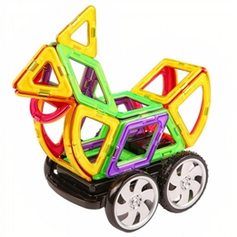 Magformers - Construction Toys Zoo Racingset