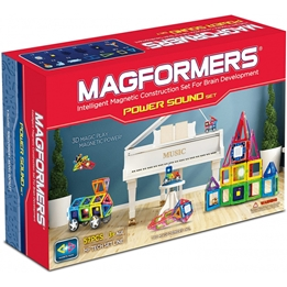 Magformers - Construction Toys Power Soundset 60-Piece