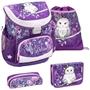 Belmil - Skolset - Set Owl 19 Liter Polyester Lila