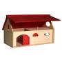 Van Dijk Toys - Junior Farm 25 X 27 X 30 Cm Wood Natural/Röd