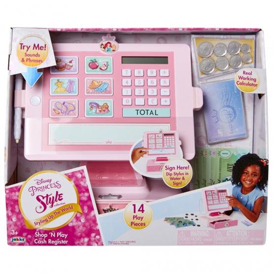 Jakks - Checkout Disney Shop 'N Play Girls 31X25 Cm Rosa 14-Piece