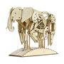 Mr Playwood - Model Kit Elephant 50 X 35 Cm Wood 159-Piece