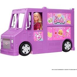 Barbie - Play Set Fresh 'N Fun Foodtruck 38,1 Cm Lila/Rosa