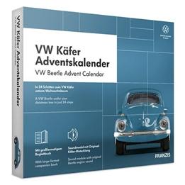 Franzis - Adventskalender Volkswagen Beetle Blå 24-Piece (Du/En)