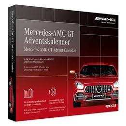 Franzis - Adventskalender Mercedes-Amg Gt Röd 24-Part