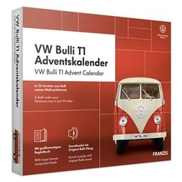 Franzis - Adventskalender Volkswagenbulli T1 Röd 24-Part