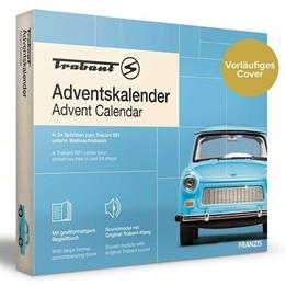 Franzis - Adventskalender Trabant Blå