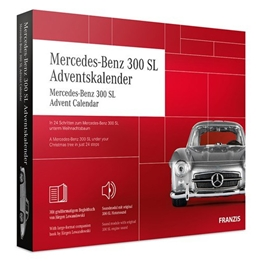 Franzis - Adventskalender Mercedes Benz 300 Sl Röd 24-Part