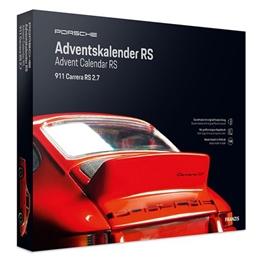 Franzis - Adventskalender Porsche 911 Carrera Rs Röd 24-Piece