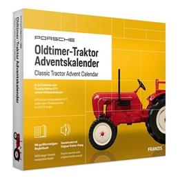 Franzis - Adventskalender Porsche Classic TraktorGul 24-Part