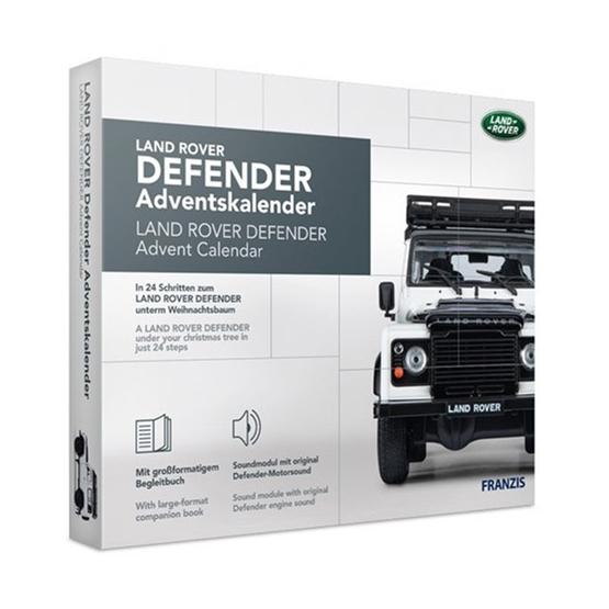 Franzis - Adventskalender Land Rover DefenderGrå 24-Part