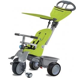Smartrike - Trehjuling - 4-In-1 Trehjuling Junior Grön/Grå