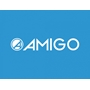 Amigo - Sparkcykel - Girlpower Fotbroms Blå