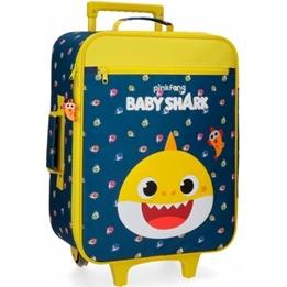 Rosafong - Resväska - Baby Shark My Good Friend Abs 25 Liter Blå