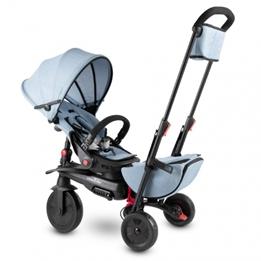 Smartrike - Barnvagn - Smartfold 700S Junior Ljusblå/Svart