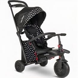 Smartrike - Barnvagn - Smartfold 600S Junior Svart