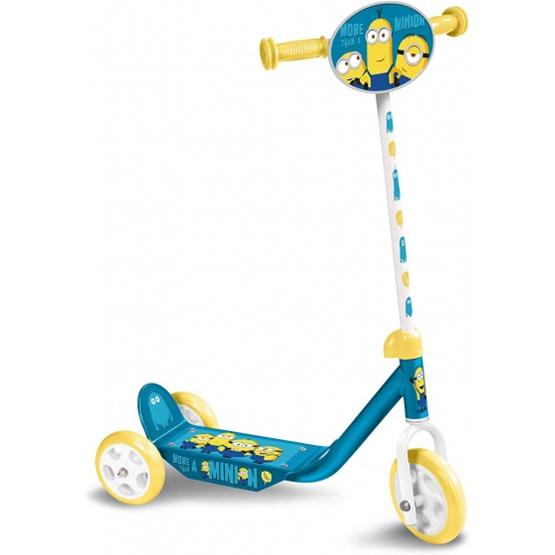 Universal - Sparkcykel - 3-Wiel Minions 2 Junior Fotbroms Blå/Gul