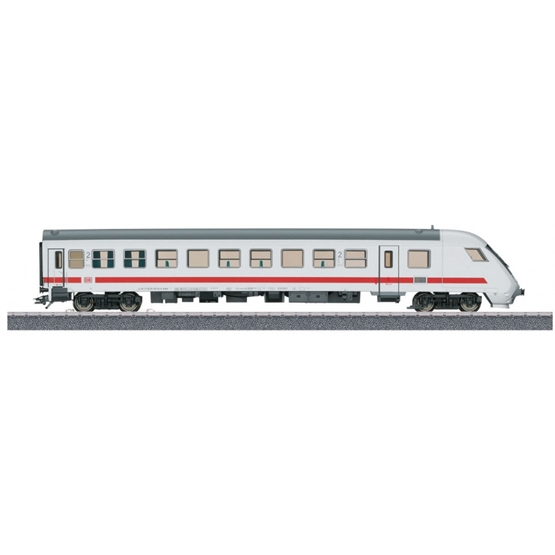 Marklin - Intercity Train H0 Start Up 2Nd Class Junior Vit/Grå