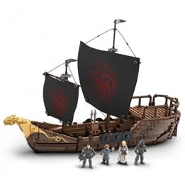Mega Construx - Modelleksak Got Targaryen Ship 723 Delar