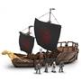 Mega Construx - Construction Kit Got Targaryen Ship Brun 723-Piece