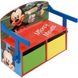 Disney - Toy Box Mickey Mouse Wood 60 X 44 Cm Blå/Röd