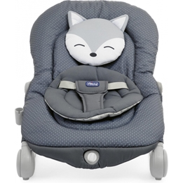 Chicco - Rocking Chair Relax Balloon Foxy 47 X 62 Cm Grå