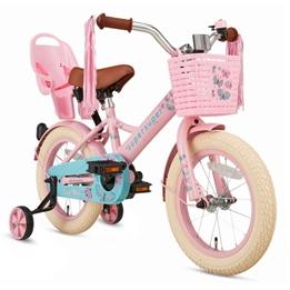 Supersuper - Barncykel - Little Miss 14 Tum Rosa