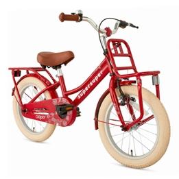 Supersuper - Barncykel - Cooper 16 Tum Röd