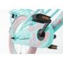Supersuper - Barncykel - Lola 16 Tum Ljusblå/Rosa