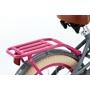 Supersuper - Barncykel - Lola 18 Tum Rosa/Grå