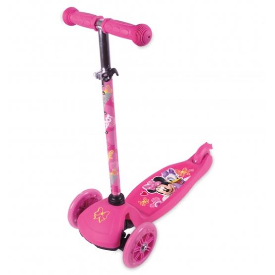 Disney - Sparkcykel - Minnie Mouse 3-Wiel Fotbroms Rosa