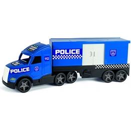 Wader - Lastbil Polis Magic Truck 79 Cm Blå/Svart