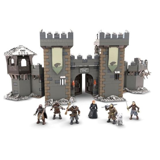 Mega Construx - Construction Kit Battle Of Winterfell Got Grå 1208-Piece
